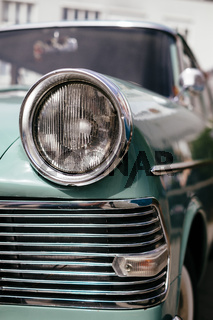 Detail von einem alten Opel PKW