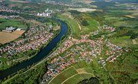 Homburg am Main mit seiner Weinlage Kallmuth