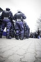 Riot police unit