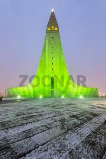 Hallgrimskirkja Cathedral Reykjavik Iceland
