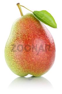 Birne Frucht Obst Freisteller freigestellt isoliert