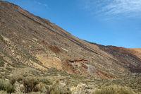 Seilbahnstation am Vulkan Pico del Teide auf der kanarische Insel Teneriffa