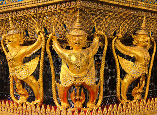 The Garuda at the Emerald Buddha Temple, Bangkok, Thailand
