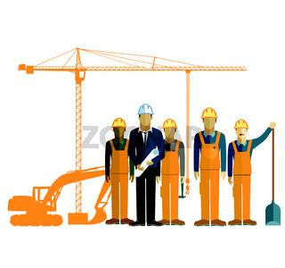 Bau und Bauarbeiter.eps