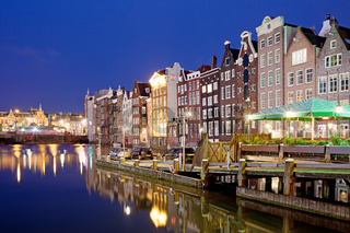 City of Amsterdam at Night