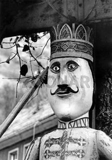 Der Roland von Questenberg im Harz, Aufnahme von 1985