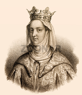 Joan I, Jeanne I de Navarre, 1273-1305, queen consort to Philip IV of France