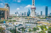 ShANghai lujiazui roundabout, Pudong CBD