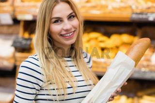 Beautiful woman smiling at camera