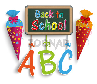 Candy Cone Back To School