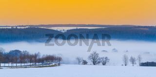 Blick nach Siptenfelde im Harz