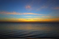 sea landscape before sunrise