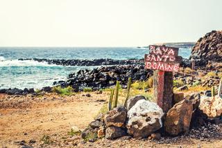 Santo Domingo beach. Tenerife, Canary Islands. Spain