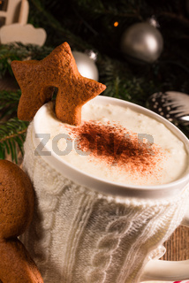 Christmas chocolate drink