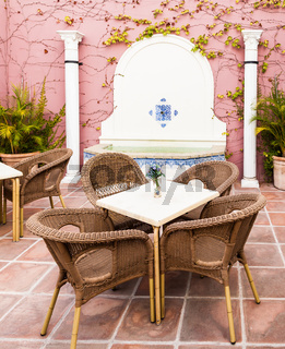 Traditional Patio in Cordoba