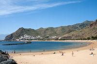 Strand bei San Andrés auf der kanarischen Insel Teneriffa