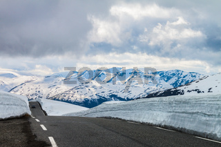 Aurlandsfjellet - Touristenstrasse in Norwegen