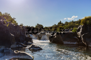 Wasserfall Alcantara