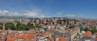 Luftaufnahme der Stadt Split, Kroatien