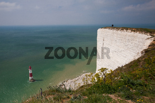 On the coast near Eastbourne