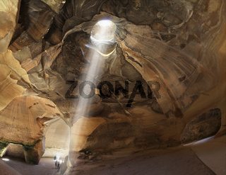 Bell caves of Beit Guvrin in  Israel