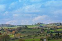 San Quirico de Orcia Landschaft