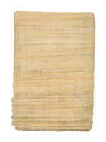 Sheet of Egyptian Papyrus cutout
