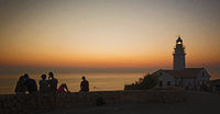 Sonnenaufgang Leuchtturm Cala Ratjada