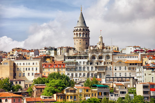 Istanbul Cityscape and Galata Tower