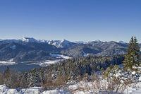 Tegernsee im Winter