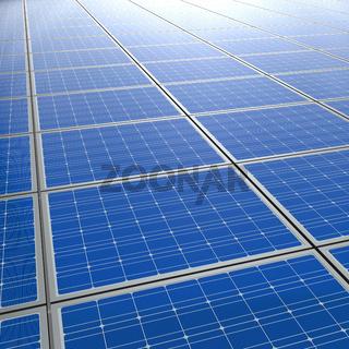 Photovoltaik Solarzellen Hintergrund 2