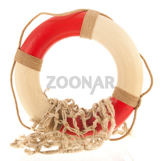 Live buoy with fishing net