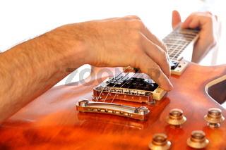 E Gitarrenspiel
