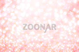 Beautiful pink bokeh light.
