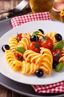 Italian food. Pasta.