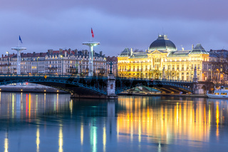 Lyon University bridge