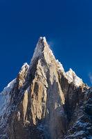 Aiguilles du Alpes from the Mer de Glace, Chamonix,  Savoie, Rhone-Alpes, France