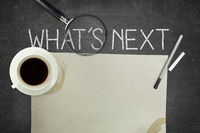 Whats next concept on blackboard
