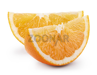 Ripe fresh orange