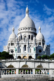 Sacre-Coeur Basilica. Paris, France.