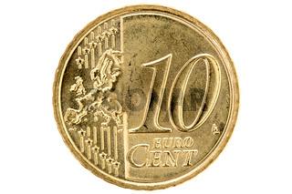 Ten euro cent