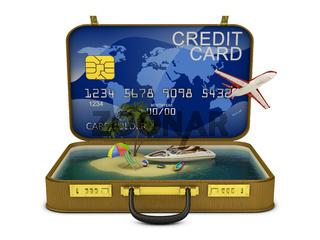 credit suitcase