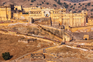 Amer Amber fort, Rajasthan, India