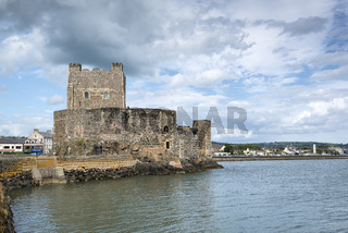 Normannenburg Carrickfergus Castle bei Belfast