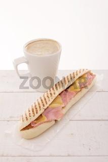 coffee and panini