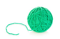 Green Yarn Ball