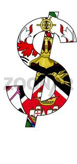 dollar - flag of trinidad and tobago