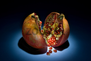 Fantastic pomegranate