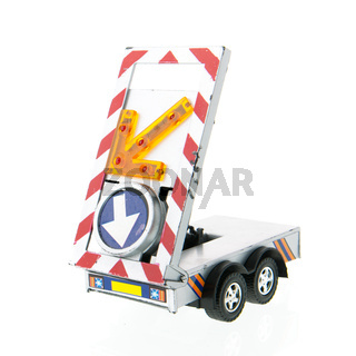 cart for construction zone