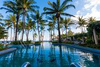 Swimmingpool auf Koh Samui